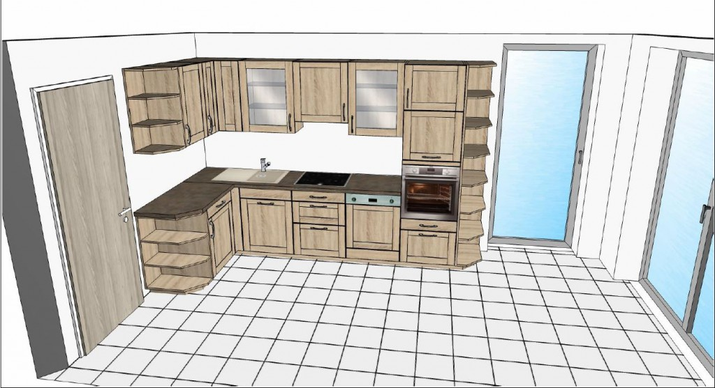 Küchen 3D Ansicht KüchenAktuell