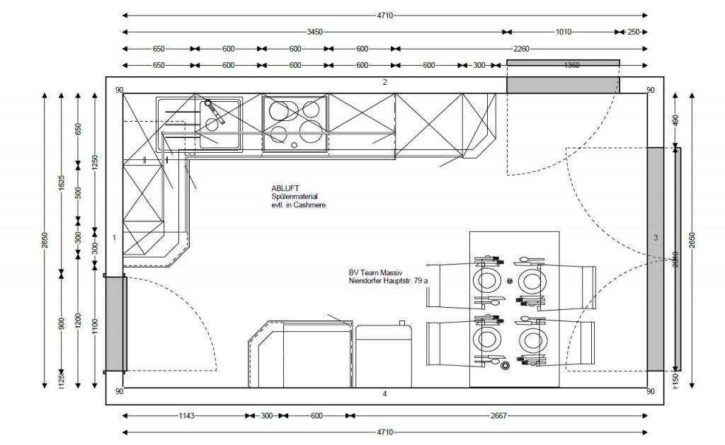 Küche Küchen Aktuell Grundriss